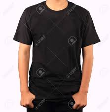 black t shirt template stock photo picture and royalty free image