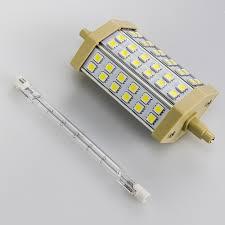 r7s j78 78mm 24 smd5050 led 110v 120v 220v floodlight replacement