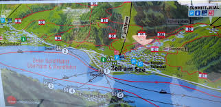 Map Austria Information About Dazzling Zell Am See On Lake Zell Austria