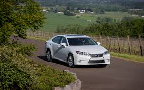 white lexus with black roof 2013 lexus es first drive motor trend