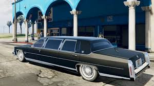 roll royce swangas cadillac fleetwood limousine 1985 beta gta v youtube