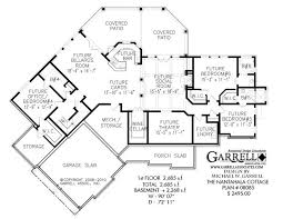 ranch floor plans with walkout basement baby nursery mountain view house plans mountain view house plans