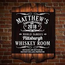 personalized bar signs 127 styles homewetbar
