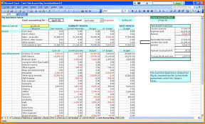 P L Spreadsheet Template Double Entry Bookkeeping Template Spreadsheet And Double Entry