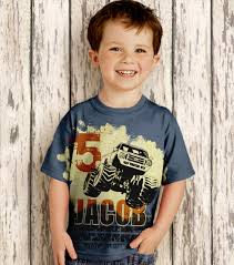 boys truck shirt personalized by simplysublimebaby on etsy