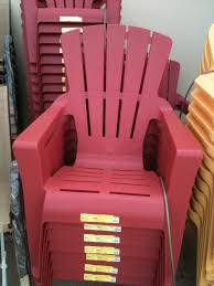 Stackable Plastic Patio Chairs by Furniture Patio Design Using Plastic Adirondack Chairs Walmart