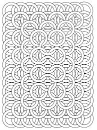op art jean larcher 17 op art coloring pages for adults