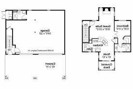 bungalow house plans garage w apartment 20 052 associated designs