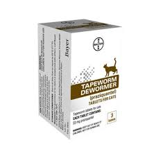 bayer tapeworm dewormer tablets for cats petco
