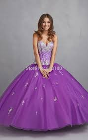 puffy halloween dresses online shop new arrival latest designs purple sweetheart crystal