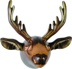 amazon com dci inflatable moose head hangers home u0026 kitchen