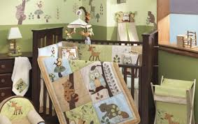 Gorgeous Bedding Cribs Beautiful Green Crib Bedding Bebe Jardin Baby Crib Bedding
