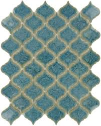 arabesque tile backsplash blue ideas bathroom lowes images living