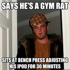 Gym Rats Meme - 10 types of people you run into at the gym