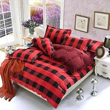 buffalo plaid duvet covers u2013 de arrest me