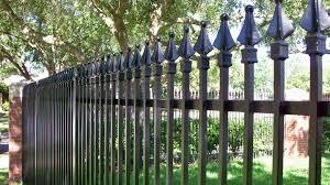 ornamental iron aluminum residential houston fence company