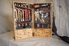 diy wood tool cabinet handmade toolbox going to pieces