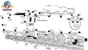 play game puzzle thomas train dot dot kids