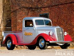 Vintage Ford Pickup Truck - 1937 ford truck rod network