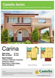 Camella Homes Drina Floor Plan Camella Homes Drina Model House Home And House Style Pinterest