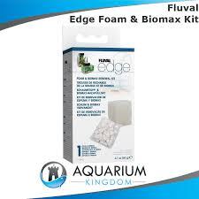 a1389 fluval edge foam biomax renewal kit filter media for