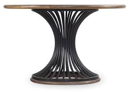 round dining table metal base 54 cinch round dining table with metal base by hooker furniture