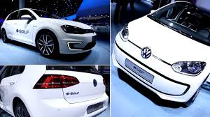 volkswagen electric car 2014 volkswagen electric car vw e golf and vw e up review youtube
