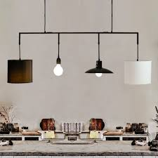restaurant kitchen lighting bar pendant lights wrought iron 4 heads 6 heads 8 heads multiple