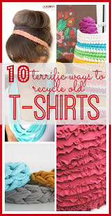 Upcycle Old Tshirts - terrific upcycled t shirt ideas sugar bee crafts