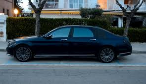 maybach 2015 2015 s class maybach x222 caught on video in spain autoevolution