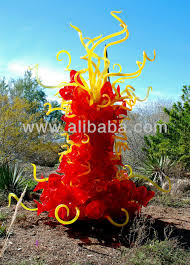 blown glass garden home design ideas and pictures