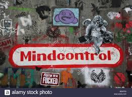 computer graffiti computer brain washing banksy graffiti artist