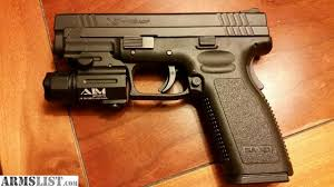 springfield xd tactical light armslist for sale trade springfield armory xd 45acp service model
