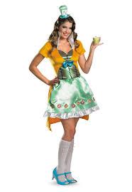 Mad Hatter Halloween Costume Disney U0027s Alice Wonderland Sassy Mad Hatter Costume