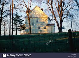house with trees in st louis mo stock photo royalty free image