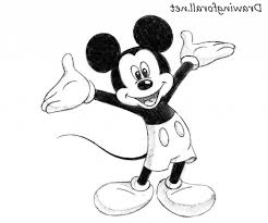 easy drawing of mickey mouse mickey amp minnie mouse kissy drawing