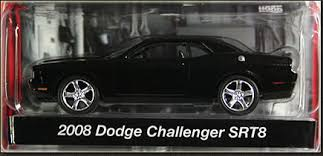 dodge challenger 08 za3 collectibles greenlight stock custom challenger 4 pack