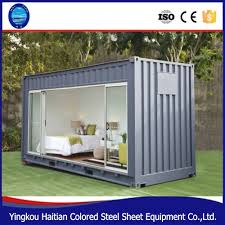 eco friendly small prefab houses 20ft sandwich panel steel