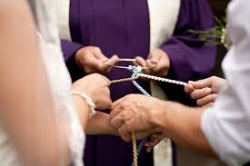 celtic wedding knot ceremony based celtic tradition where the phrase tying the knot