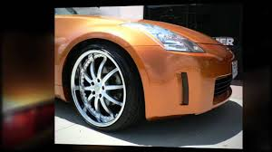 nissan 350z wheel bolt pattern f1 wheel u0026 tyre nissan 350z with 20inch staggered fitment youtube