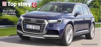 Audi Q5 2015 - 2016 audi q5 image 2 images 2017 audi q5 u2013 first images and details