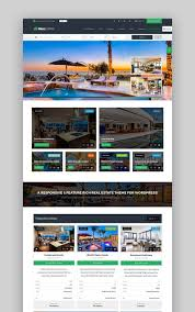 wordpress templates for websites 20 best real estate wordpress themes for 2017 websites