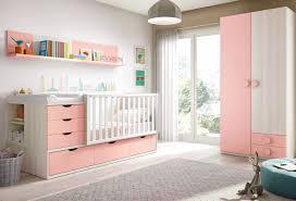 chambre bébé fille chambre de bébé fille complète avec lit évolutif glicerio so nuit