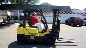2247c 2006 hyster 5 000 lb pneumatic forklifts pinterest