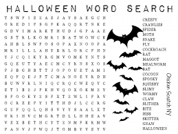 collection halloween word searches printables pictures halloween