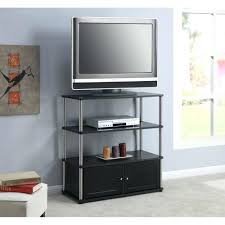 tall pier with door glass shelves and lighthigh tv stand storage