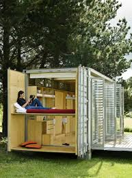 tiny container homes the port a bach is a tiny container home which is all windows tiny