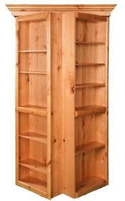 Murphy Door 4 Maple Bifolding Bookcase Hidden Door H O M E