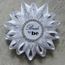 Wedding Shower Decorations by Bridal Shower Decorations Bride To Be Pin Bride To Be Corsage