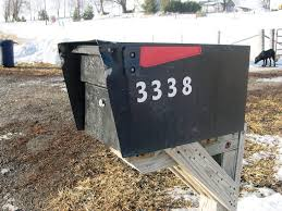 Whitehall Wall Mount Mailbox Residential Wall Mounted Mailboxes U2014 Jen U0026 Joes Design Deluxe